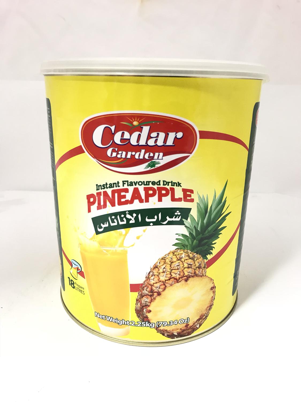 cedar Garden instant powder drink pineapple 6x2.5kg