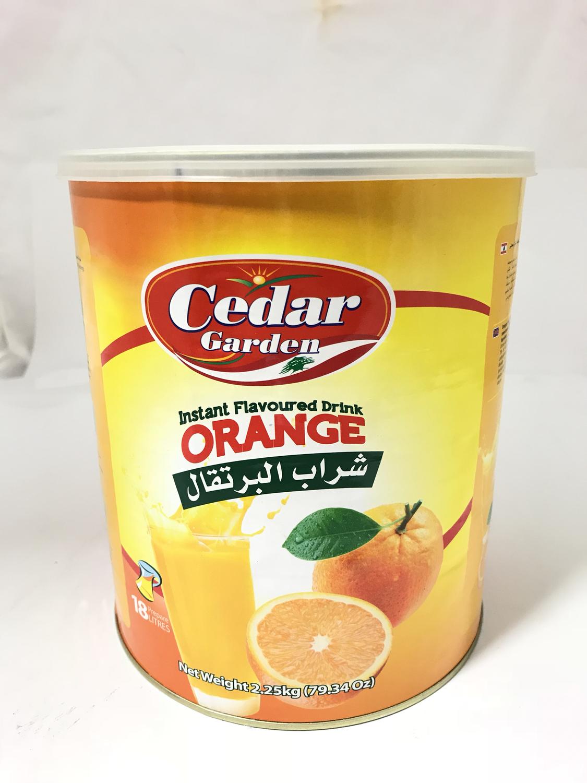 cedar Garden instant powder drink orange 6x2.5kg