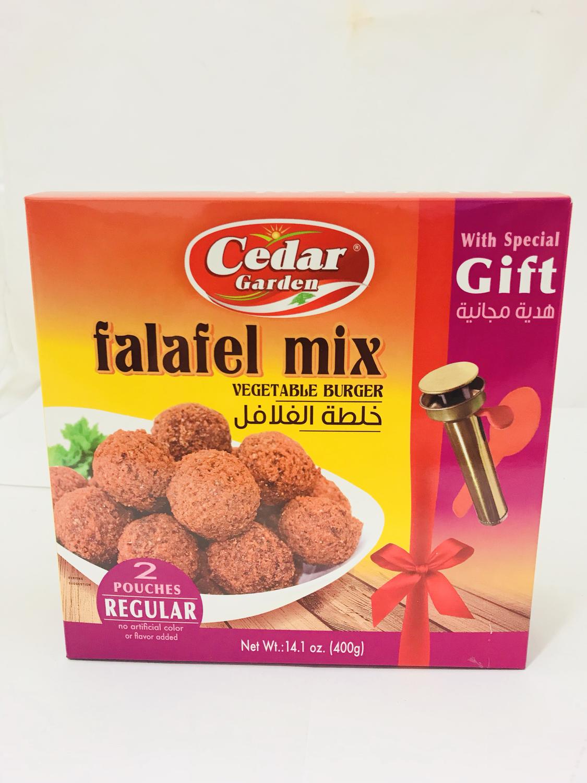 Cedar garden falafel mix with gift 12x400g
