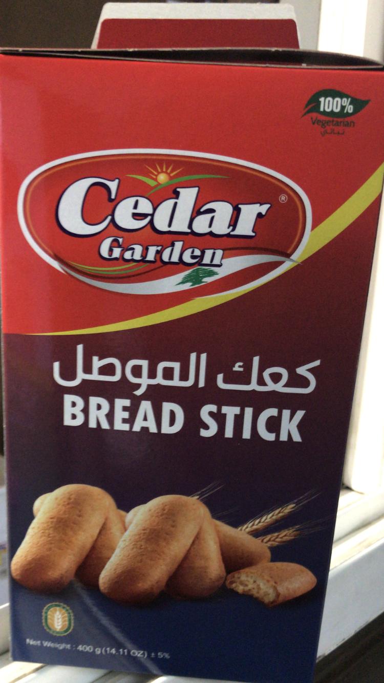 Cedar garden Mousel bread stick 12x400g
