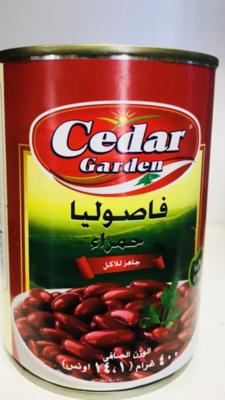 Cedar garden red kidney beans 24 x 400g