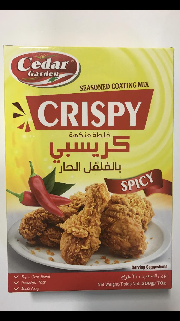 Cedar Garden crispy mix spicy 12x 200g