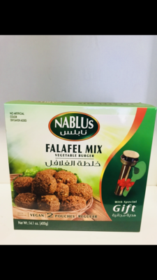 Nablus falafel with gift 400g x12
