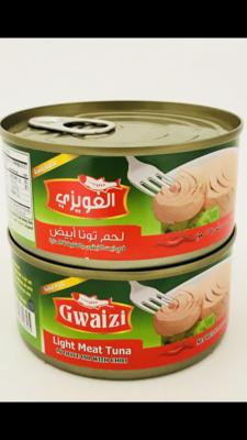 Gwaizi tuna with olive oil spicy 48 x 185 g