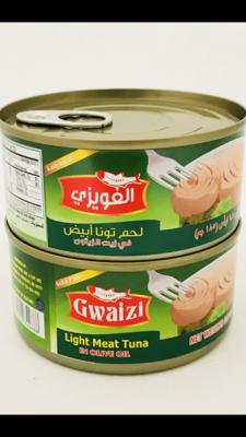 Gwaizi tuna with olive oil 48 x 185 g