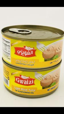 Gwaizi tuna with sunflowers oil 48x185 g
