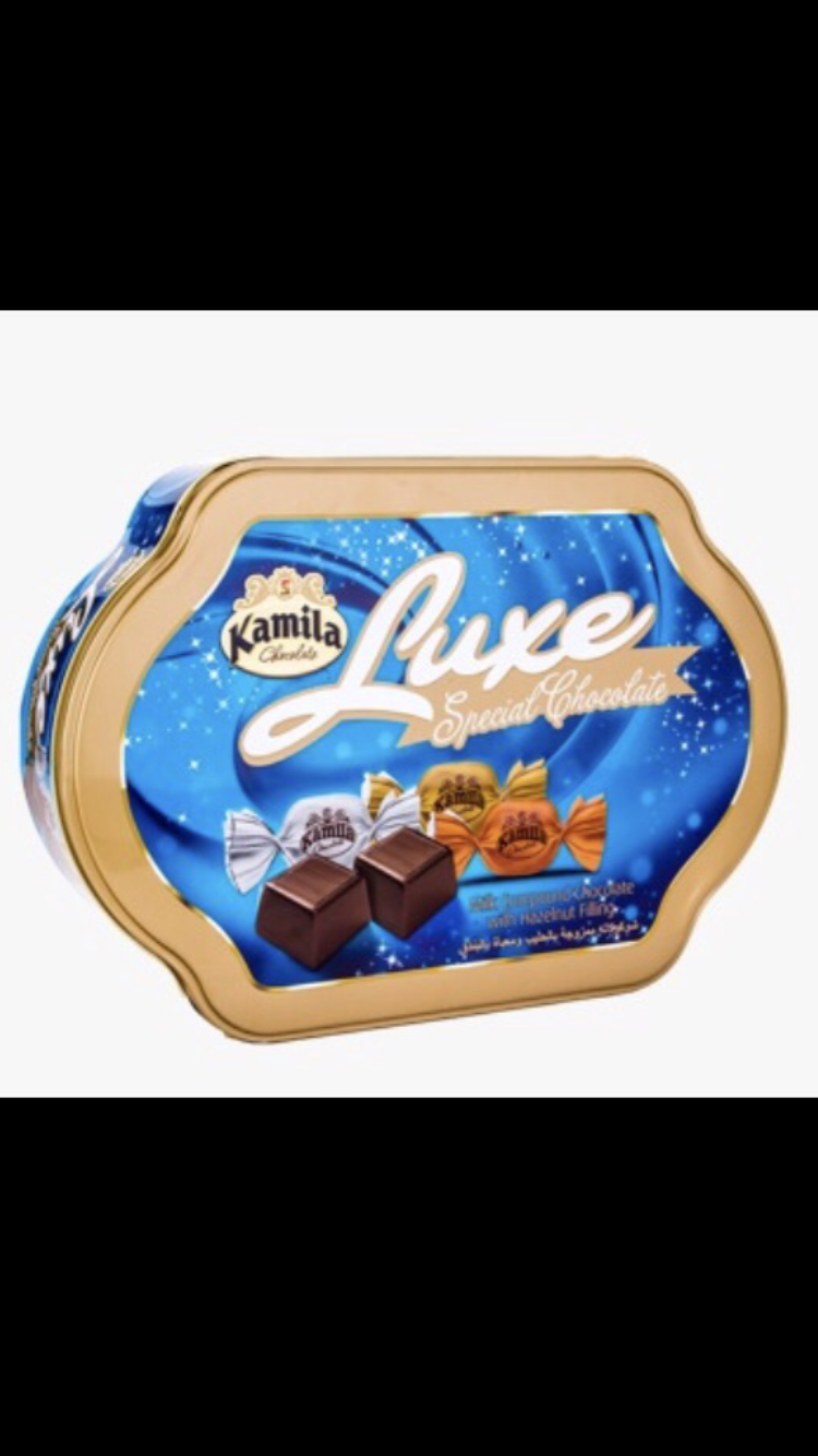 Kamila luxe chocolate 12/case