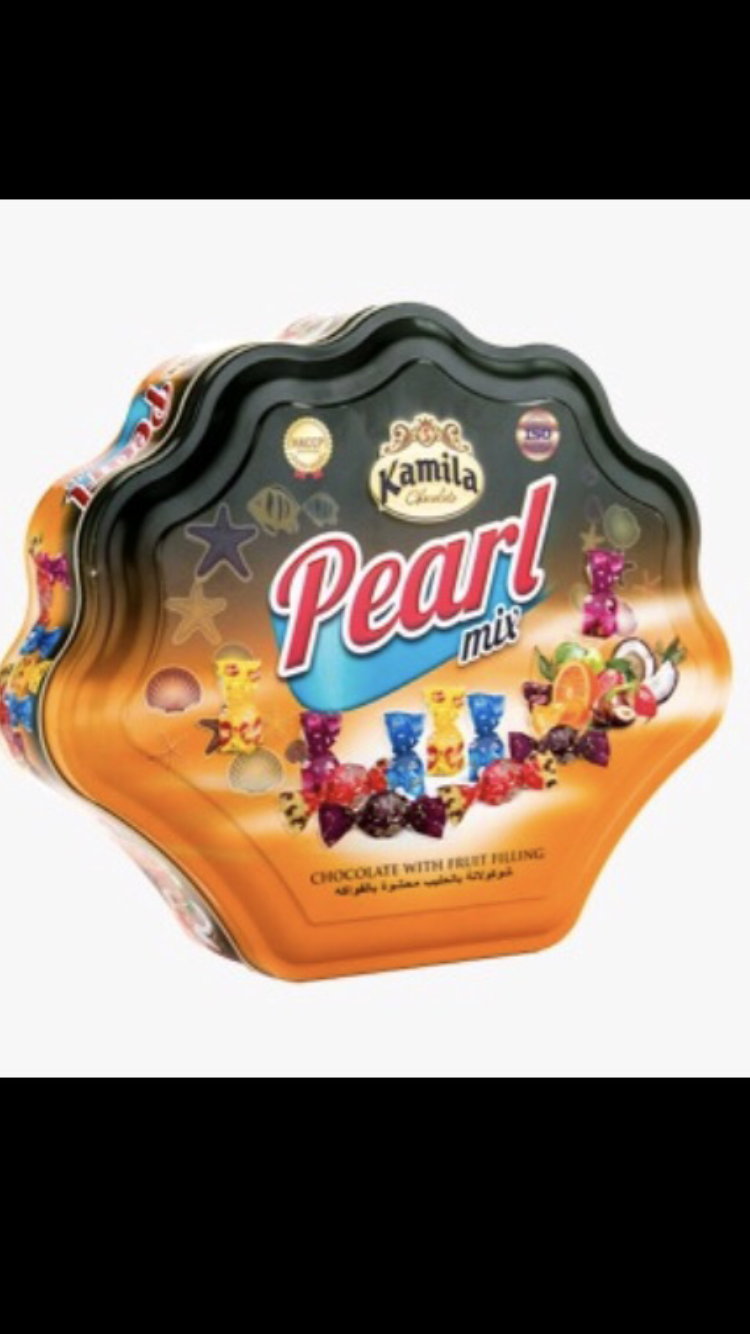 Kamila pearl chocolate 12/case