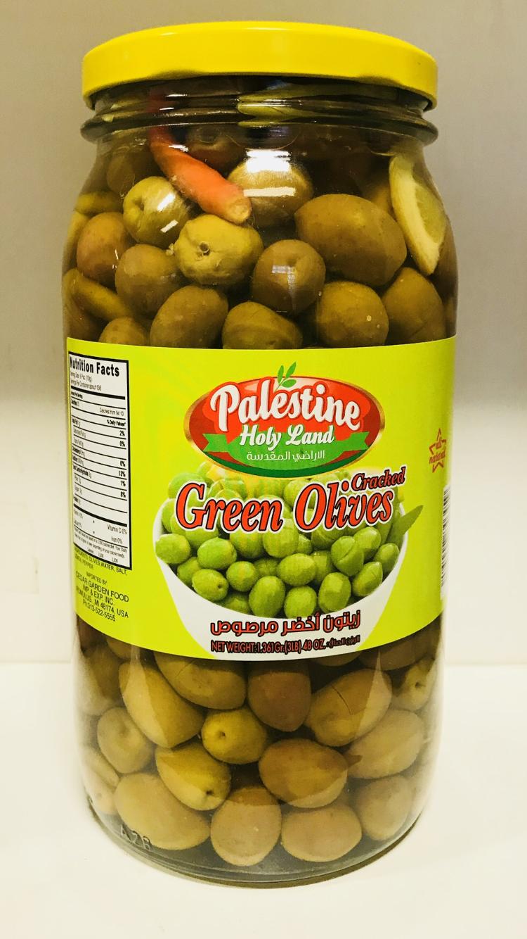 Palestine Holyland Green olive 4x1361 gr