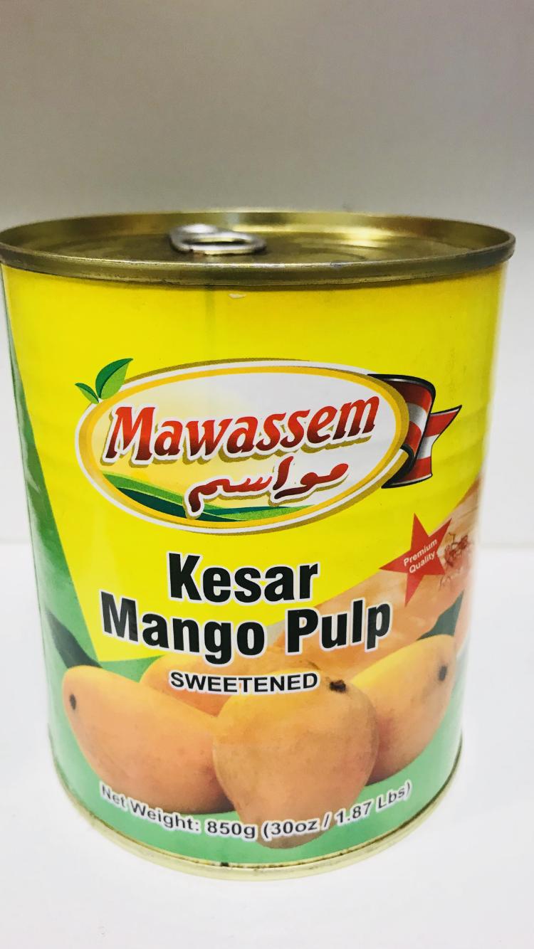 Mawassem mango pulp 6x850 g
