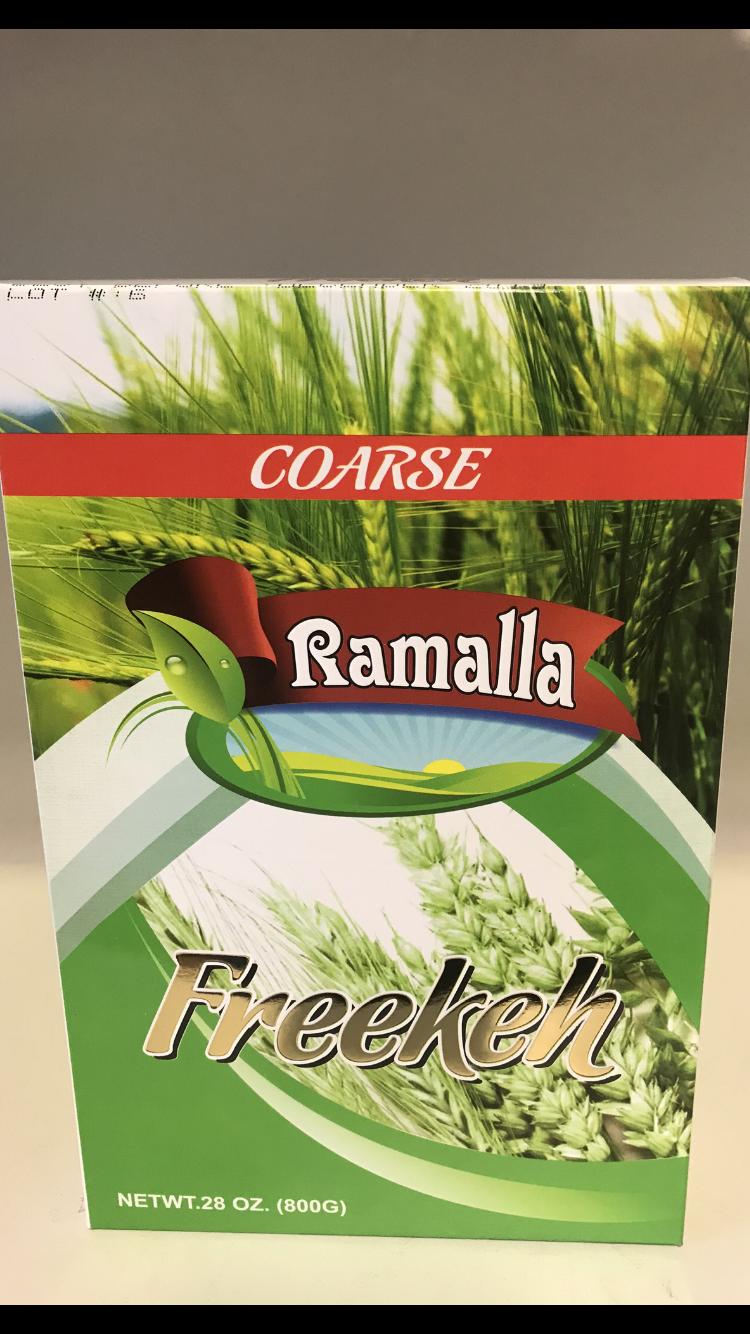 Ramallah green Freekeh corse 12x800g