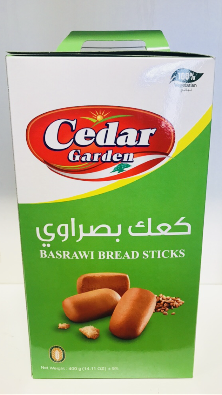 Cedar garden Basrawi bread stick 12x400g