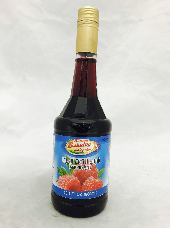 Mawassem raspberry syrup 12x600 ml