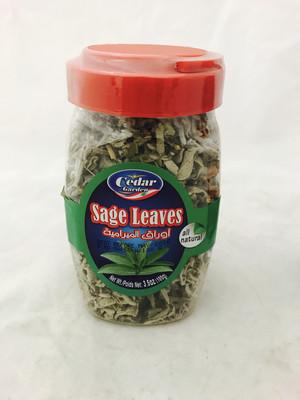 cedar garden sage leave 12x100g