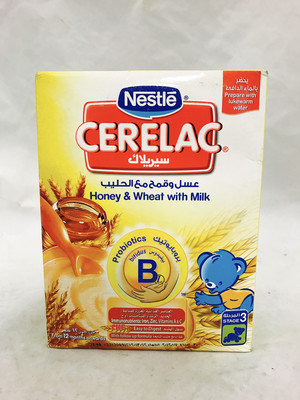 Cerelac Honey & wheat with milk 24 x350 g