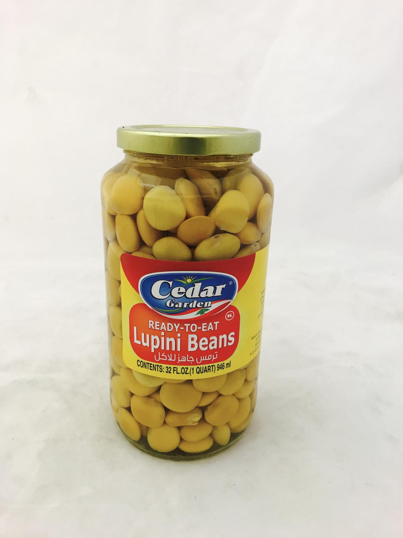 Cedar garden lupini beans ready to eat  12x2lb