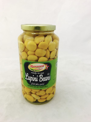 Mawassem lupini beans ready to eat  12x2lb