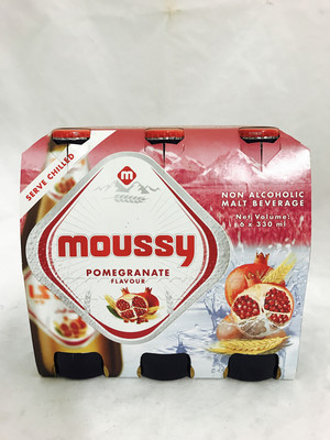 Moussy pomgranate multi drink 4x6x330 ml