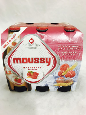 Moussy Raspberry mult 24x300ml