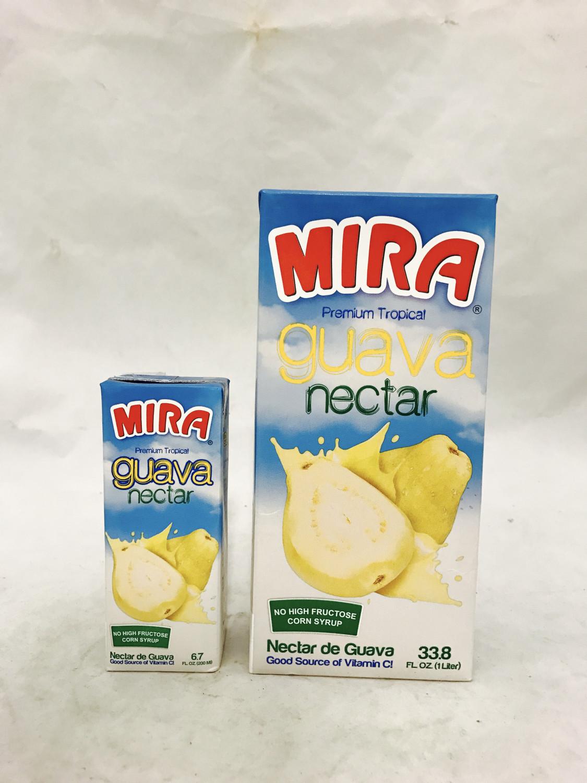 MIRA white Guava nectar 12x1ltr