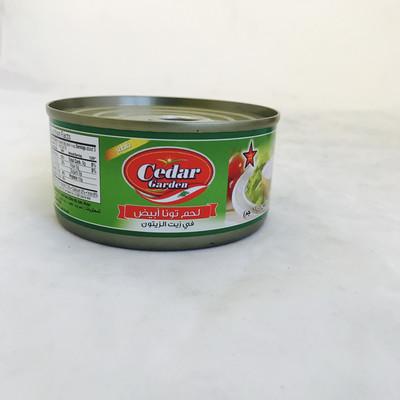 Cedar garden Tuna with olive oil 48 x 6oz