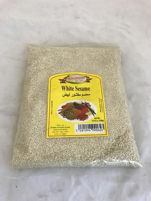 Mawassem white sesame seeds 24x350g