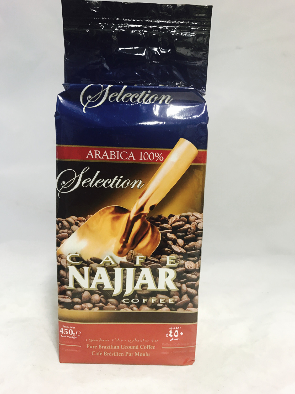 Najjar coffee plain 10 x454 gr