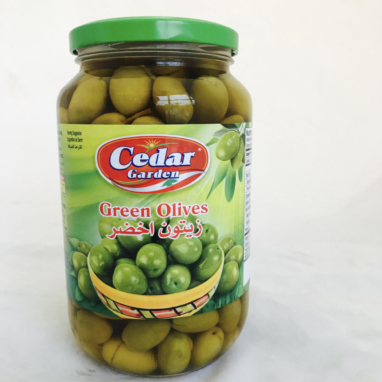 Cedar garden green olive 12 x908 gr
