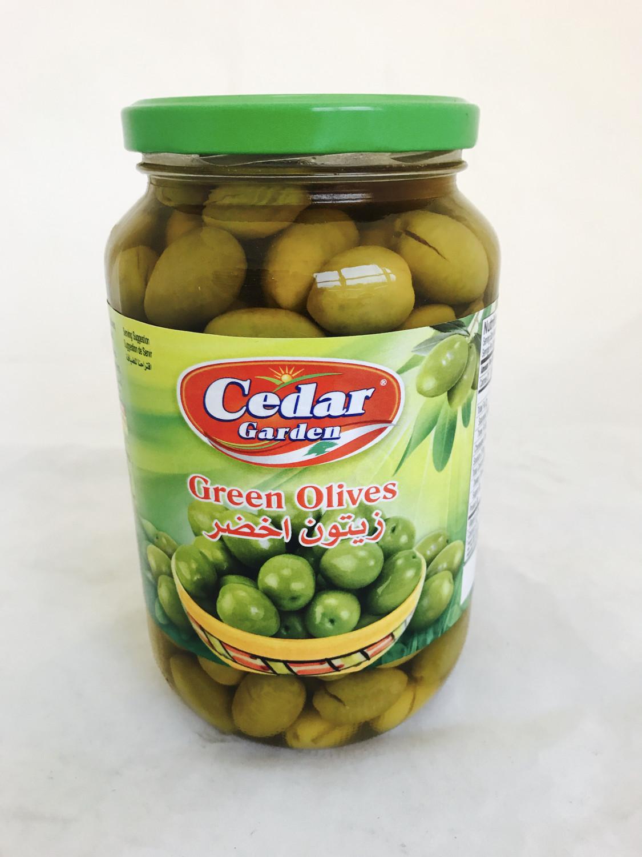 Cedar garden Green olive 12x900g