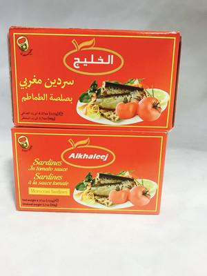 Alkhaleej sardines in tomato sauce 50 x 125 g