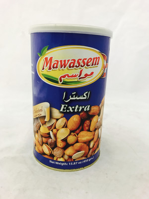 Mawassem extra mix nut 12 x 454 gr