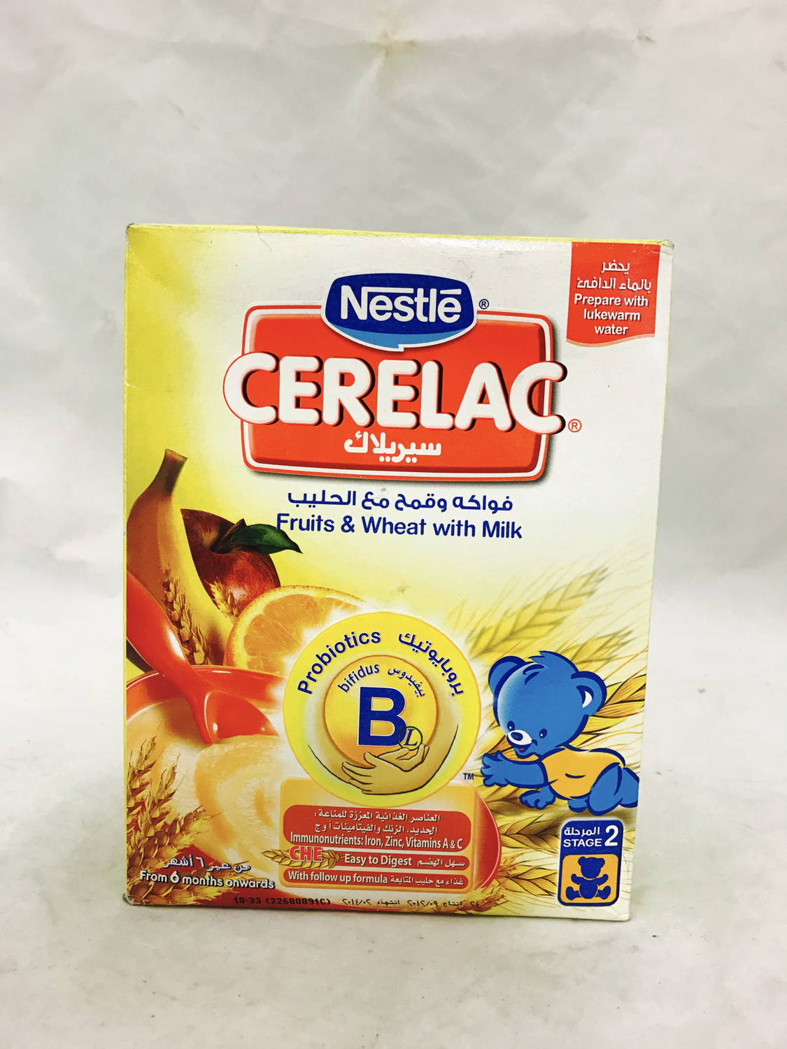Cerelac fruits & wheat with milk 24 x 350 g