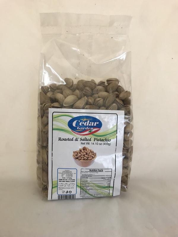 Cedar garden Turkish pistachio (Antep) 12x400g