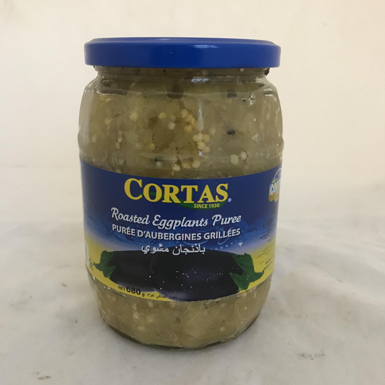 Cortas grilled eggplant jar 12x700gr