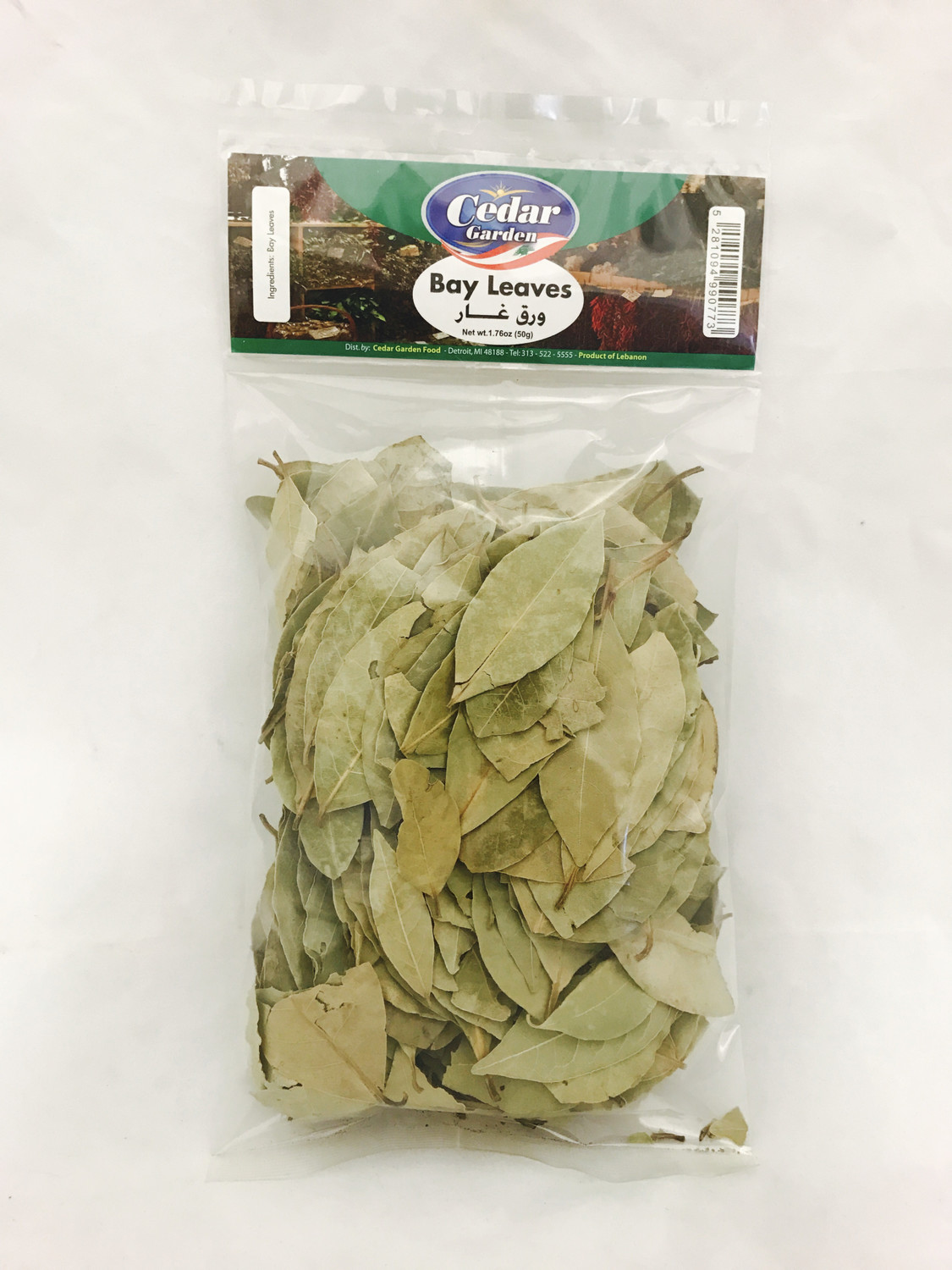 Cedar garden bay leaves hanger bag 24x100g