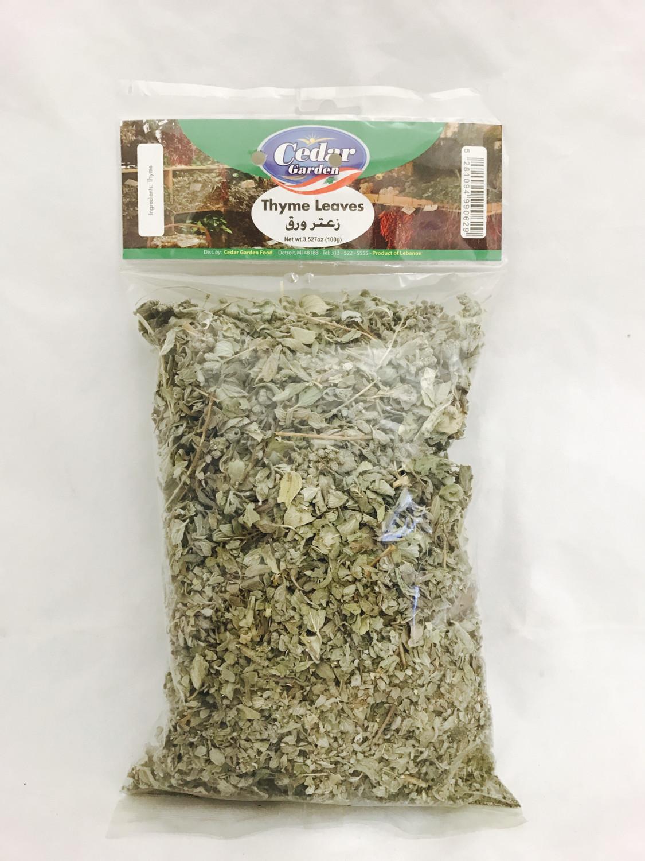 Cedar garden thyme Leaves hanger bag  24x100g