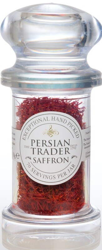 The Persian Trader Mondo Jar Saffron 10g