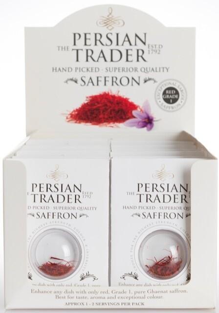 The Persian Trader Bubble Pack Saffron 12x 125mg