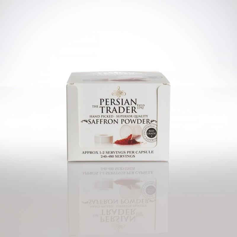 The Persian Trader Topaz Saffron Powder 20x125mg