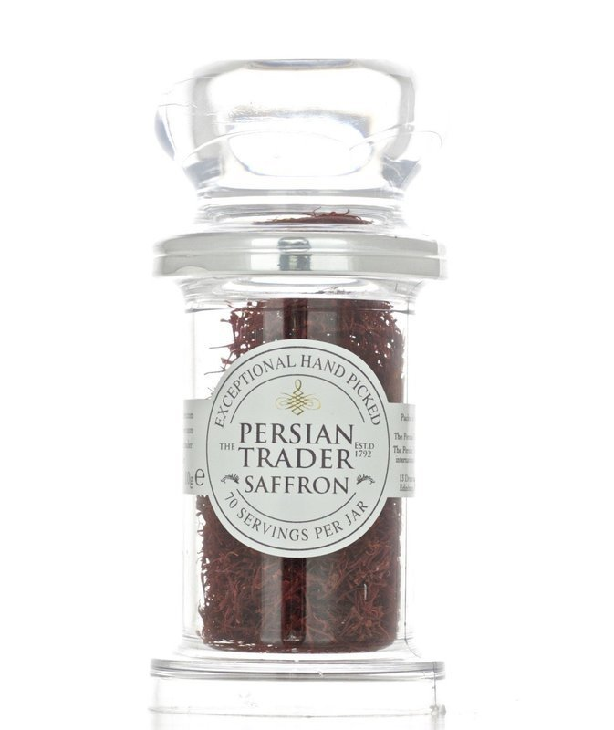 The Persian Trader Mondo Jar Saffron 10g