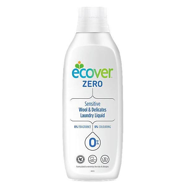 Ecover Zero. Жидкость для стирки изделий из шерсти и шелка, 1 л