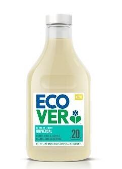 Ecover. Жидкое средство для стирки универсальное, суперконцентрат, 1 л