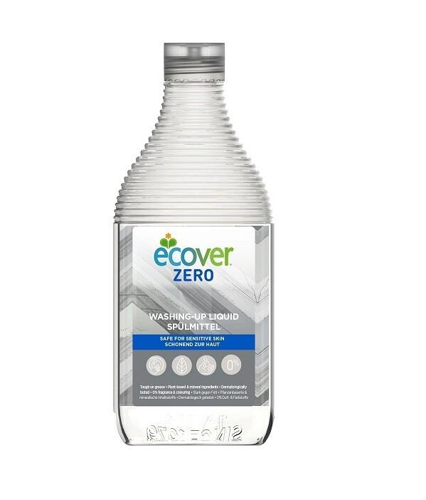 Ecover Zero. Жидкость для мытья посуды гипоаллергенная, 450 мл