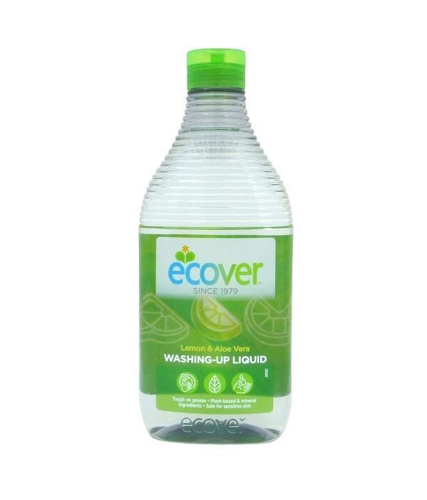 Ecover. Жидкость для мытья посуды с лимоном и алоэ-вера, 450 мл