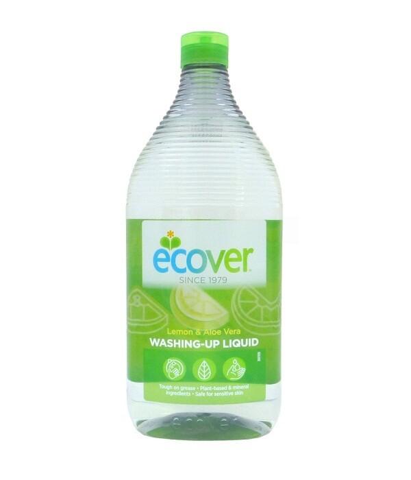 Ecover. Жидкость для мытья посуды с лимоном и алоэ-вера, 950 мл