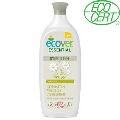 Ecover Essential. Жидкость для мытья посуды с ромашкой, календулой и молочной сывороткой, 1 л