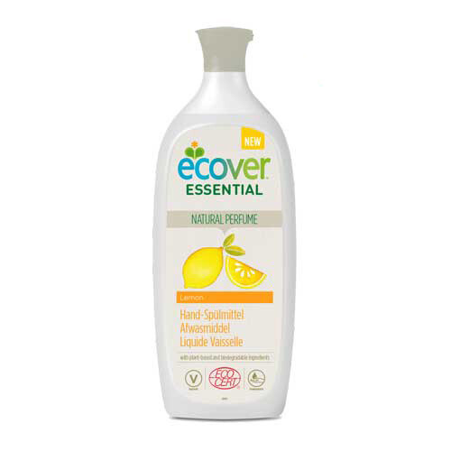 Ecover Essential. Жидкость для мытья посуды с лимоном, 1 л