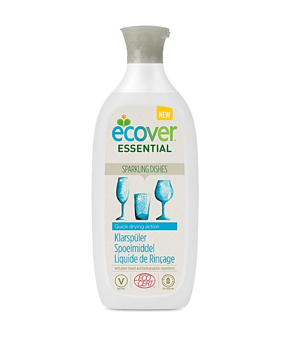 Ecover Essential. Ополаскиватель для посудомоечной машины, 500 мл