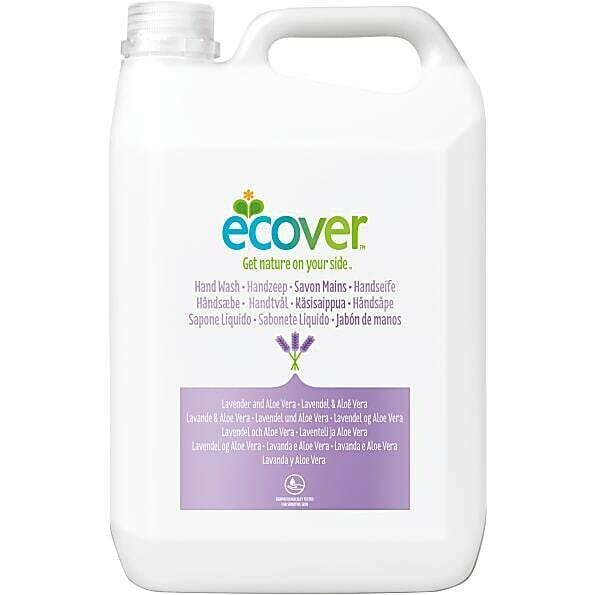 "Ecover. Жидкое мыло для мытья рук ""Лаванда"", 5 л"