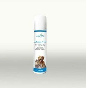Ecolife. Allergy free pets. Нормализатор жизненного пространства, 200 мл